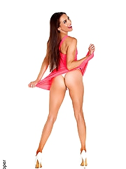 Celeste Star hot girl striptease